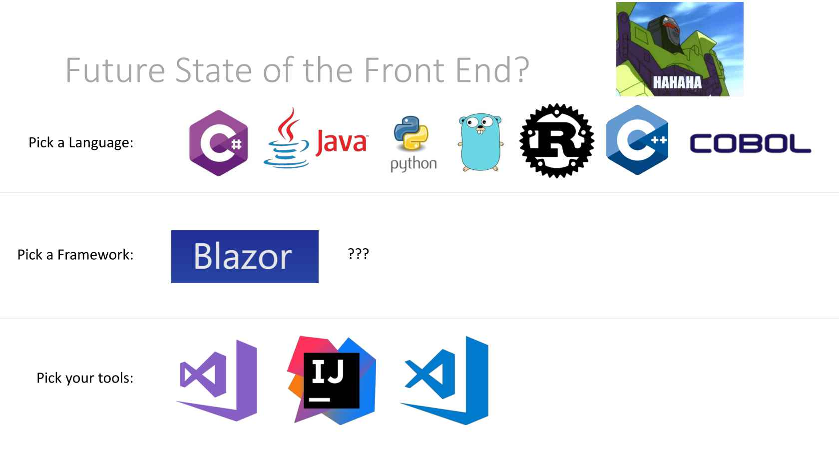 Blazor: C# Running in the Browser via WebAssembly