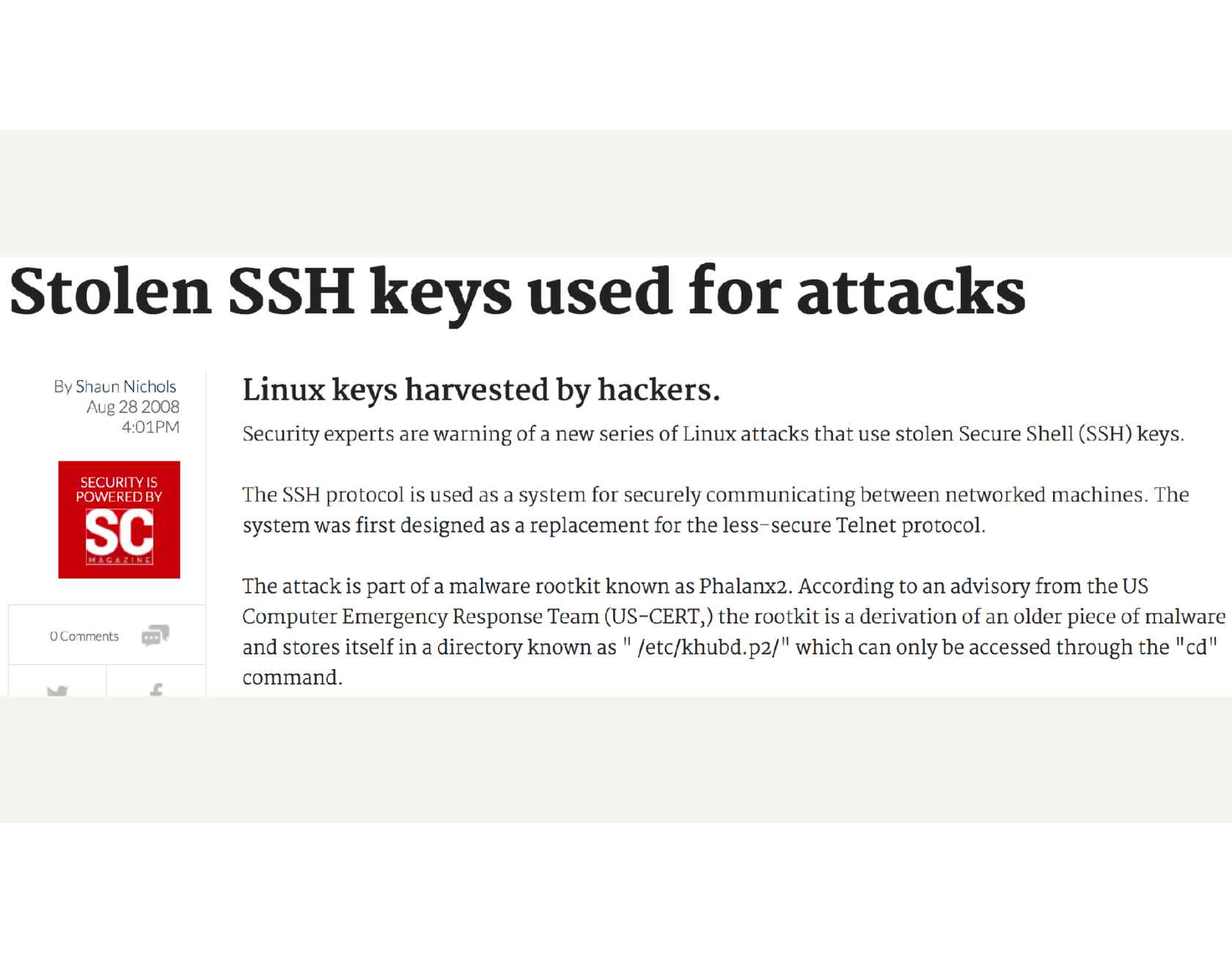 BLESS: Better Security and Ops for SSH Access