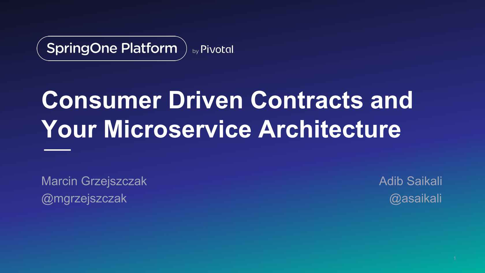 Consumer-Driven Contracts and Your Microservice Architecture