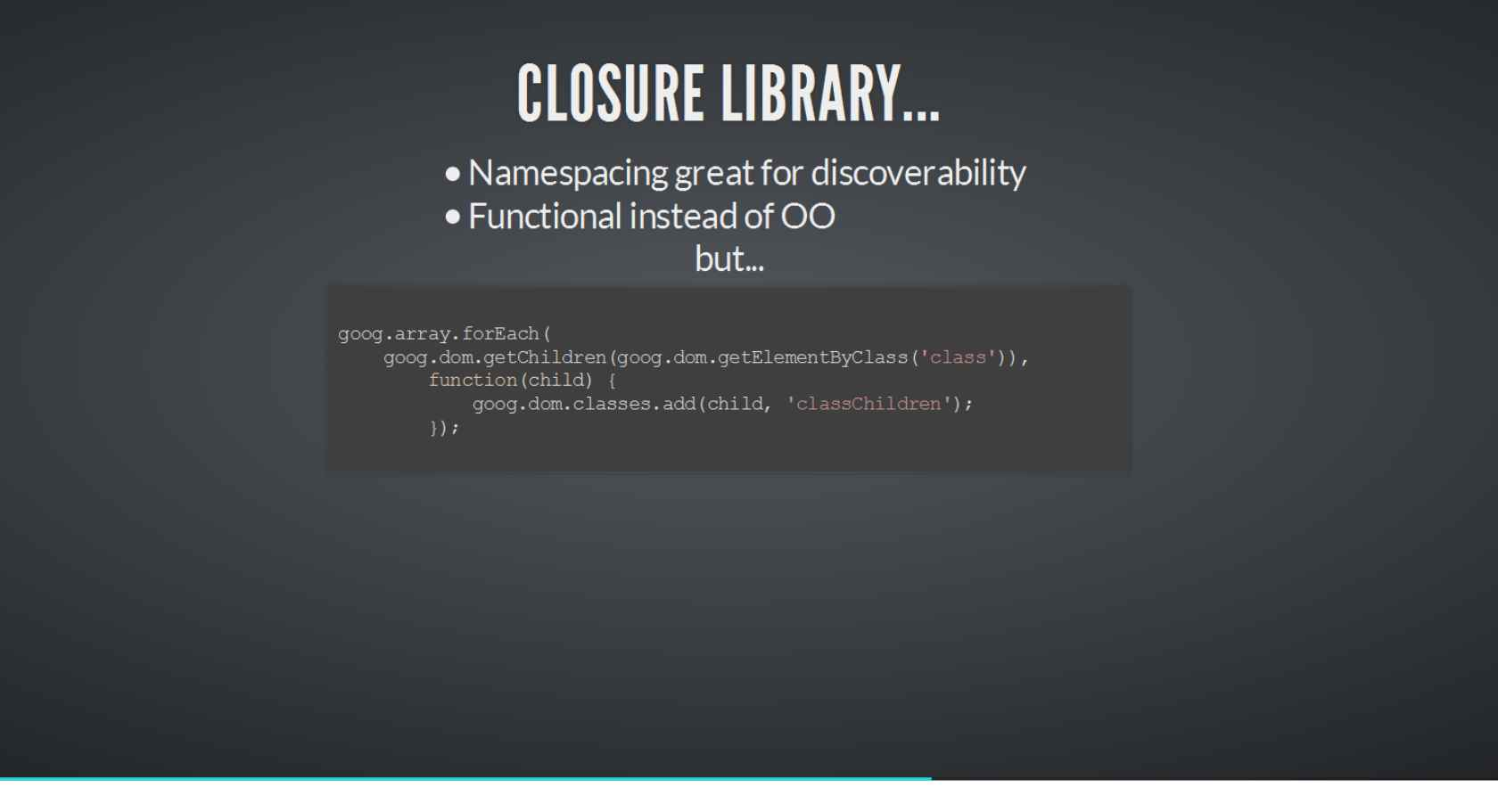 How Google Does It: Using Closure Tools for Large JavaScript ...