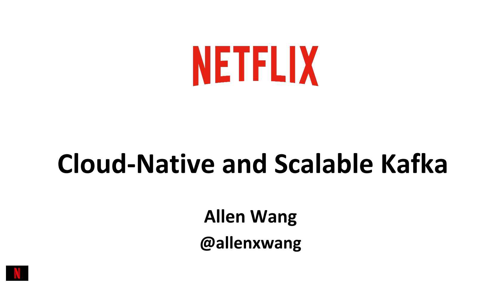 Cloud-Native and Scalable Kafka Architecture