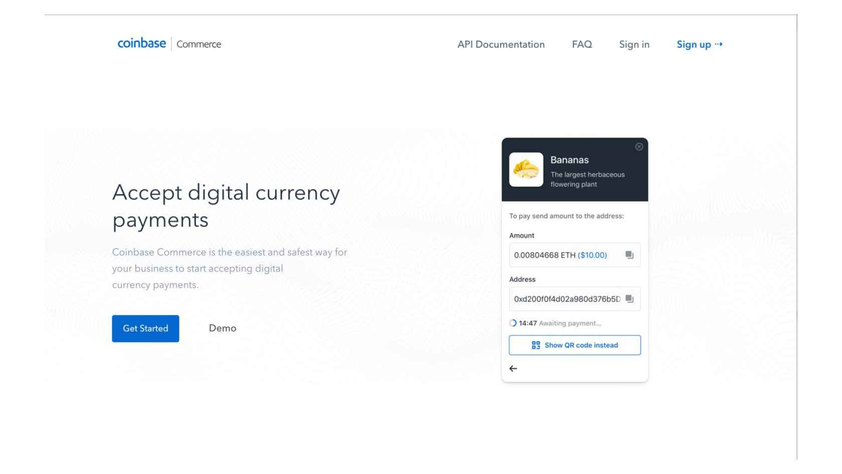 Coinbase Commerce: A User-Controlled Payment Processor