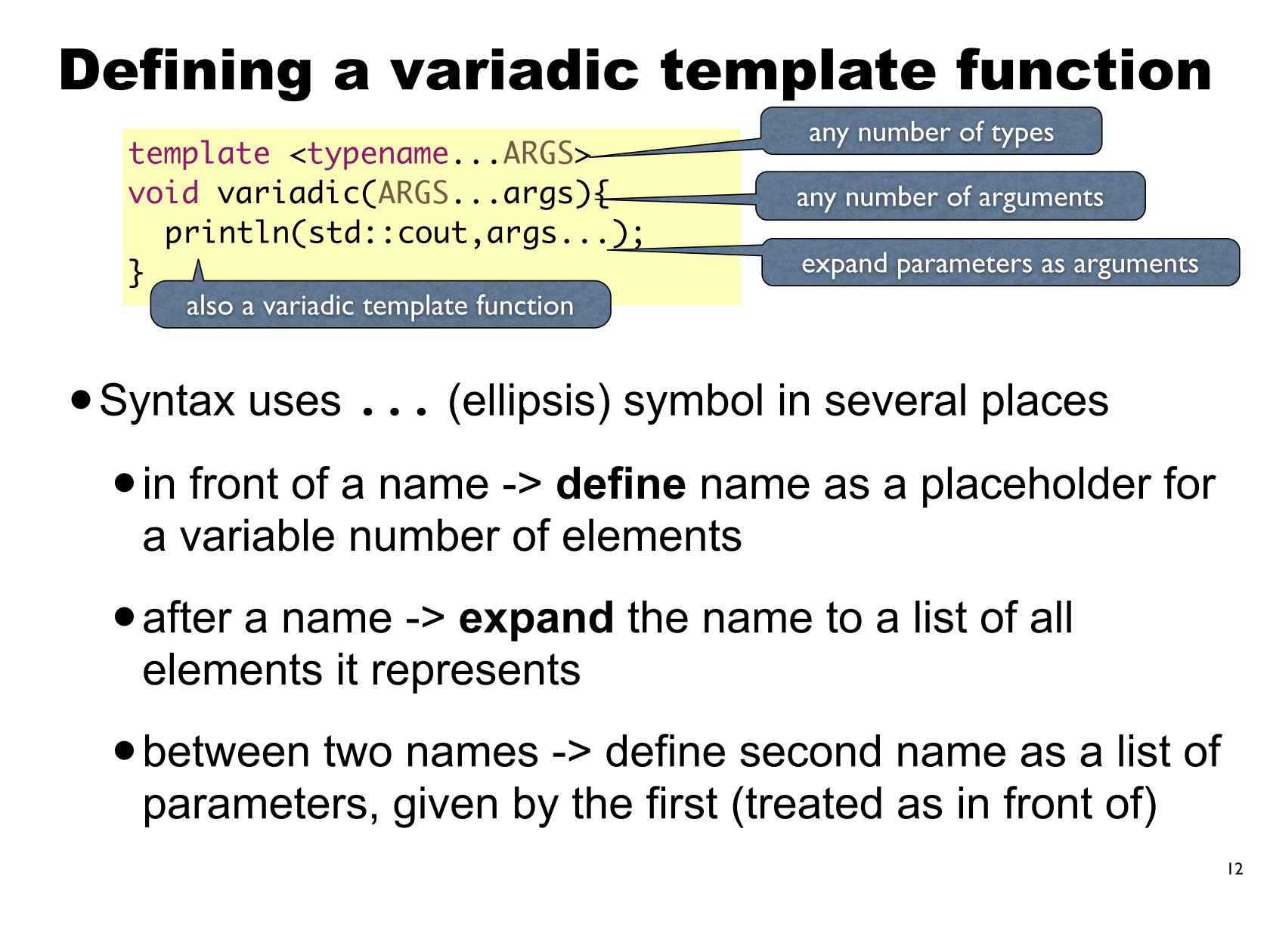 Compile-time Computations in C++14
