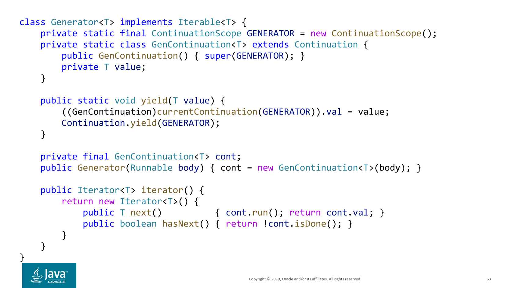 Why Continuations are Coming to Java