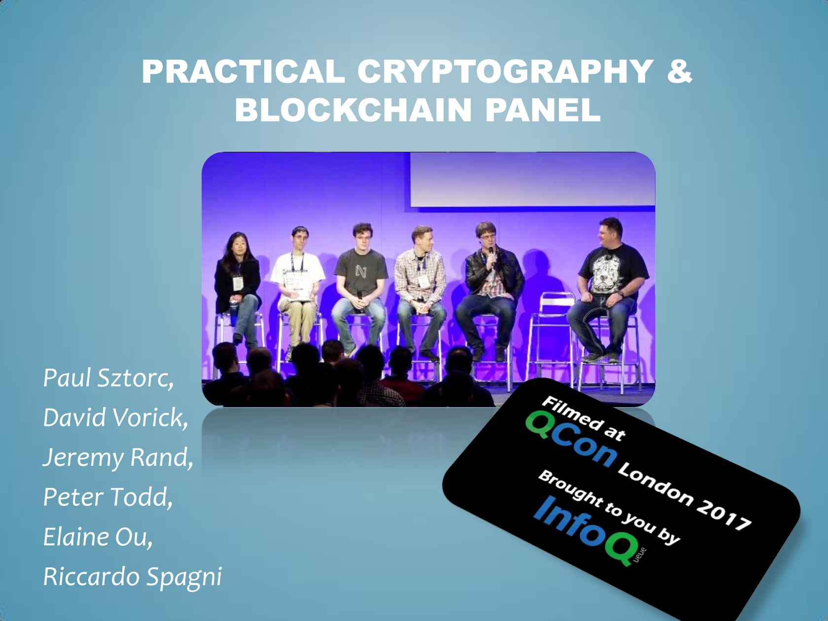 Practical Cryptography & Blockchain Panel