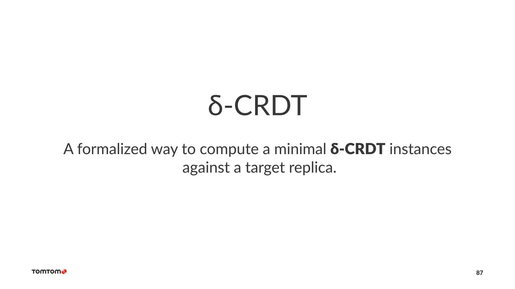Practical Data Synchronization Using CRDTs