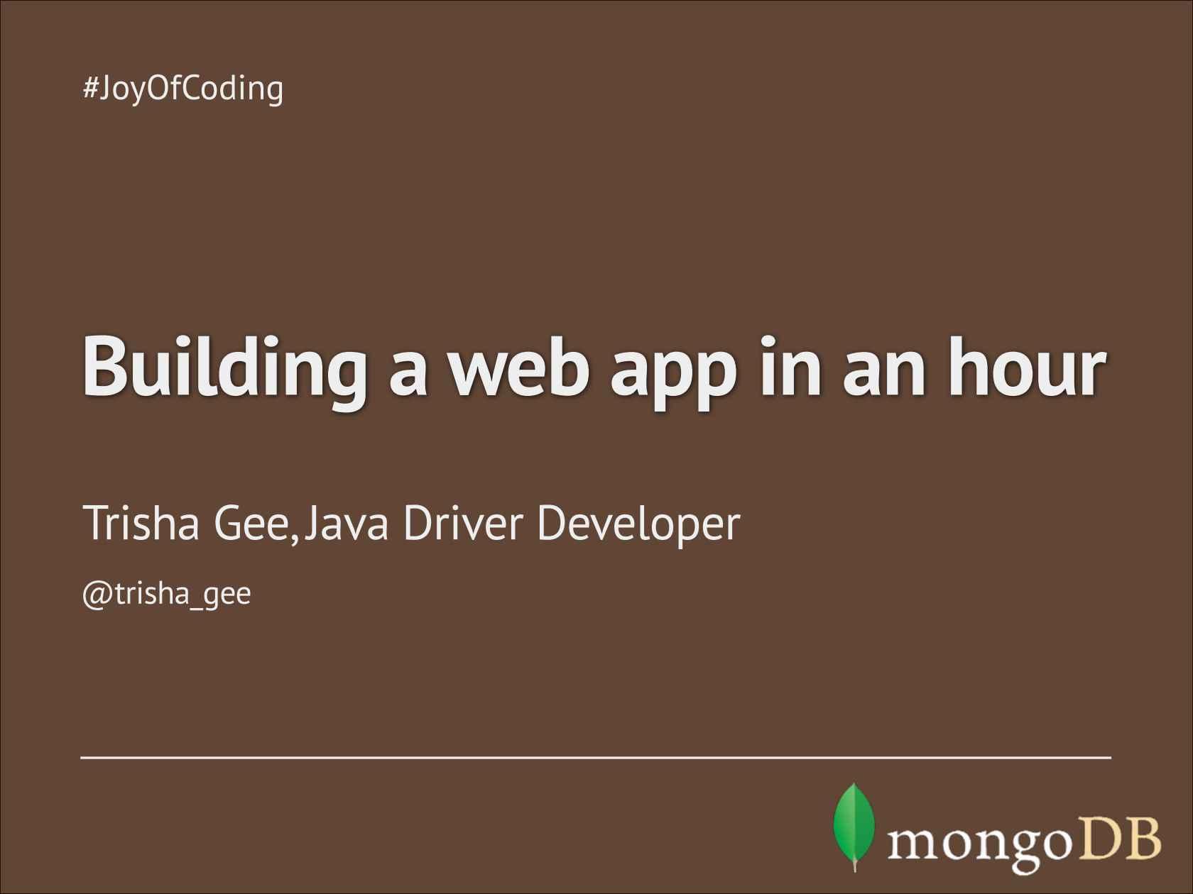 HTML5 Angularjs Groovy Java MongoDB All Together