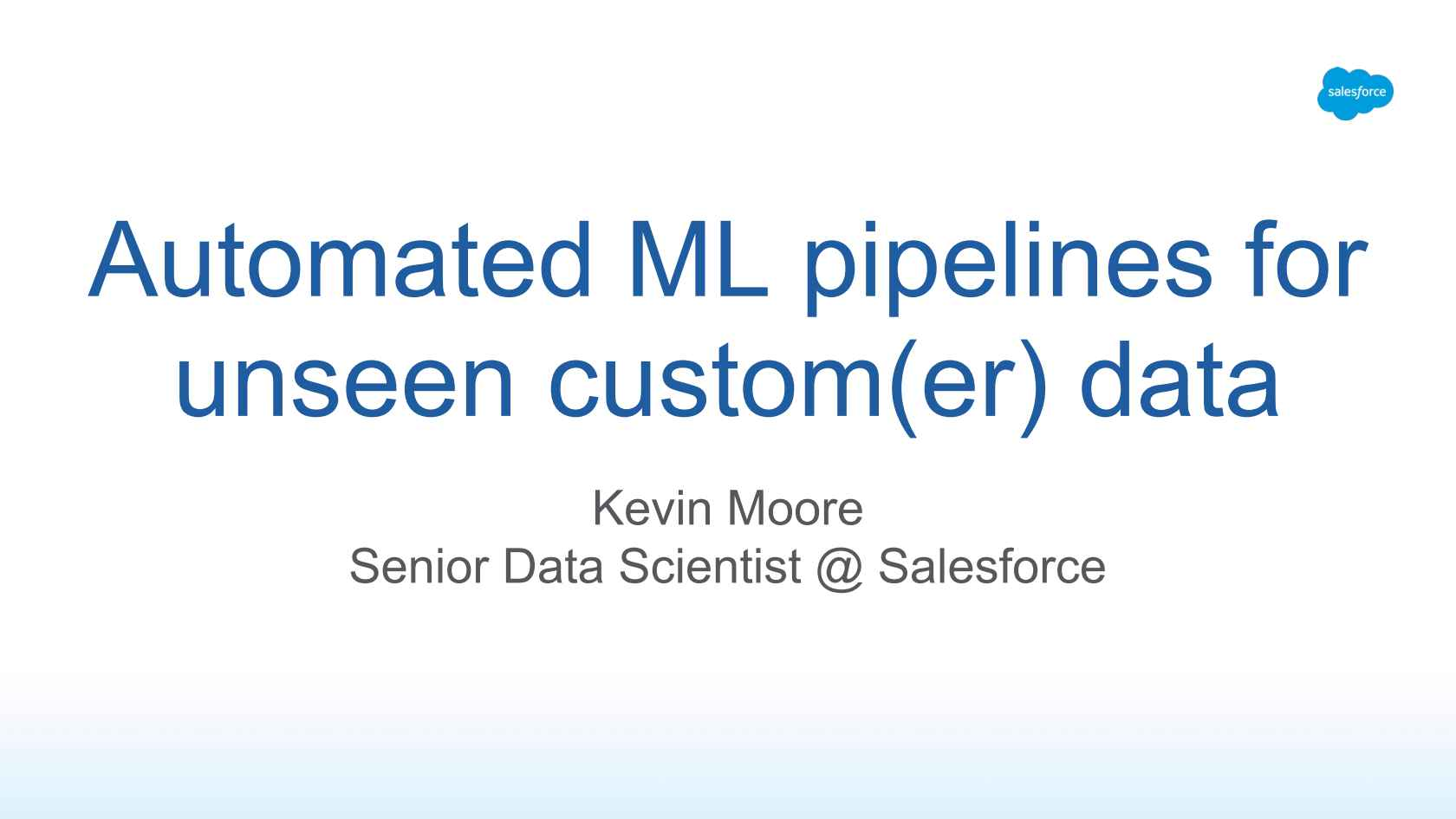 Designing Automated Pipelines For Unseen Custom Data