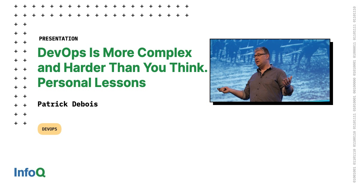 DevOps Is More Complex and Harder Than You Think. Personal Lessons