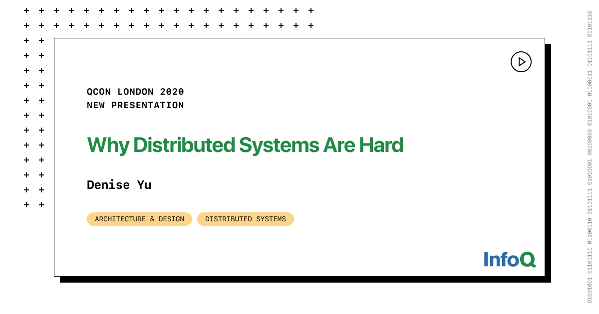 Why Distributed Systems Are Hard