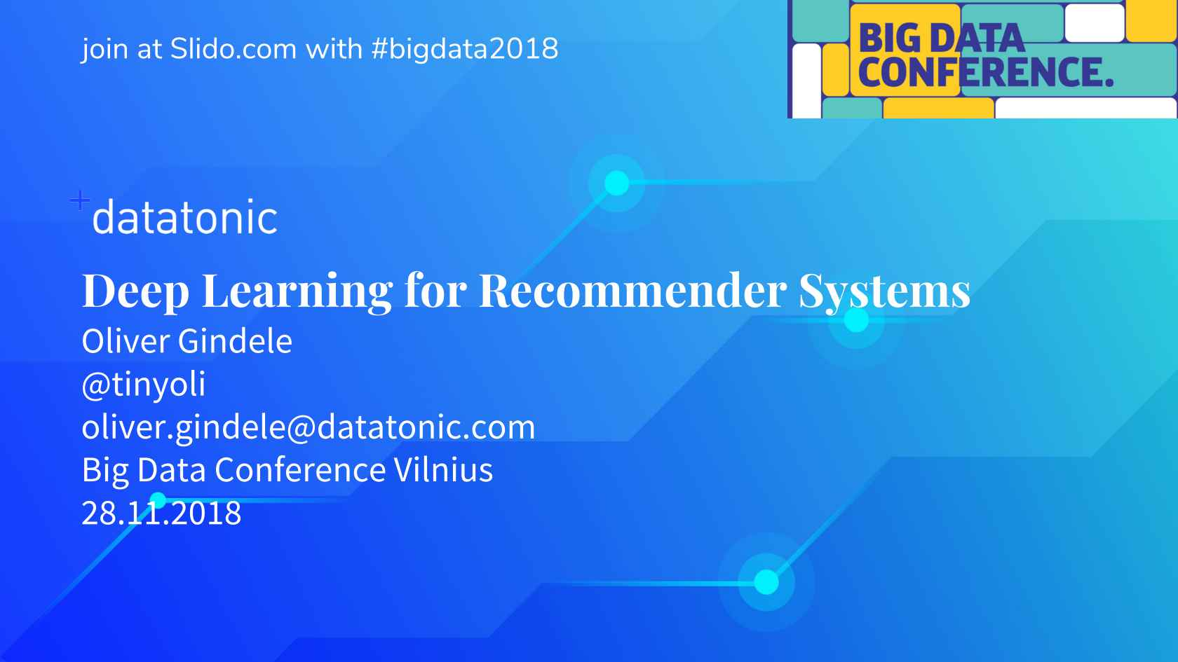 Deep Learning for Recommender Systems