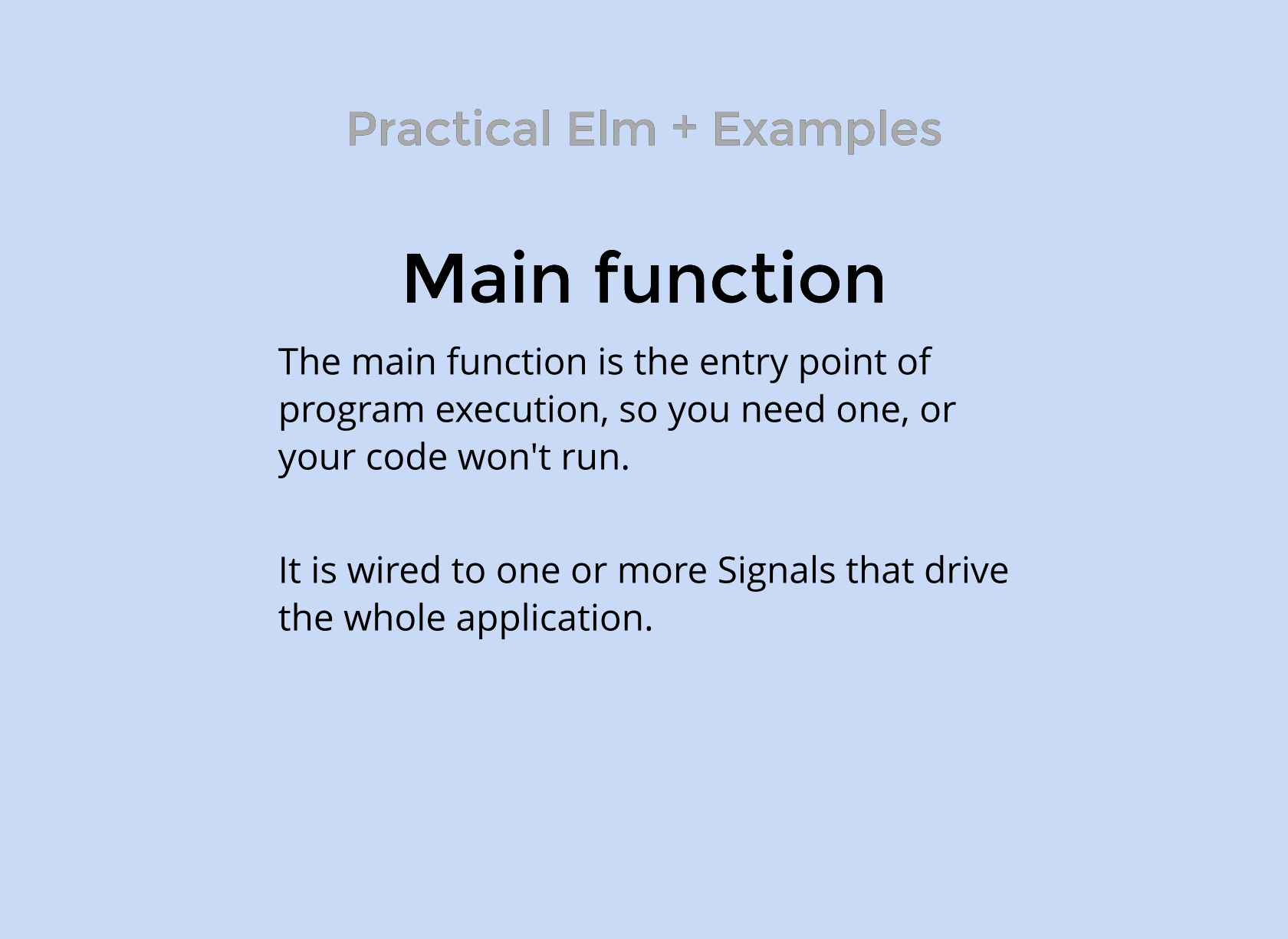 Elm Finding The Functional In Reactive Programming