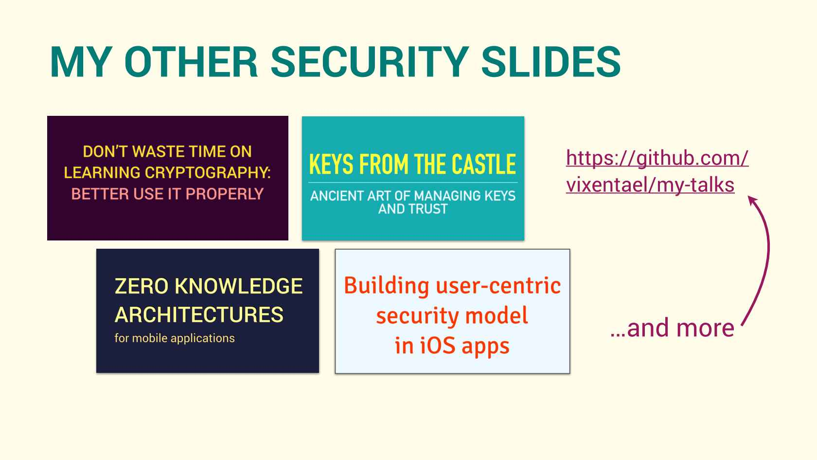 Encryption without Magic, Risk Management without Pain