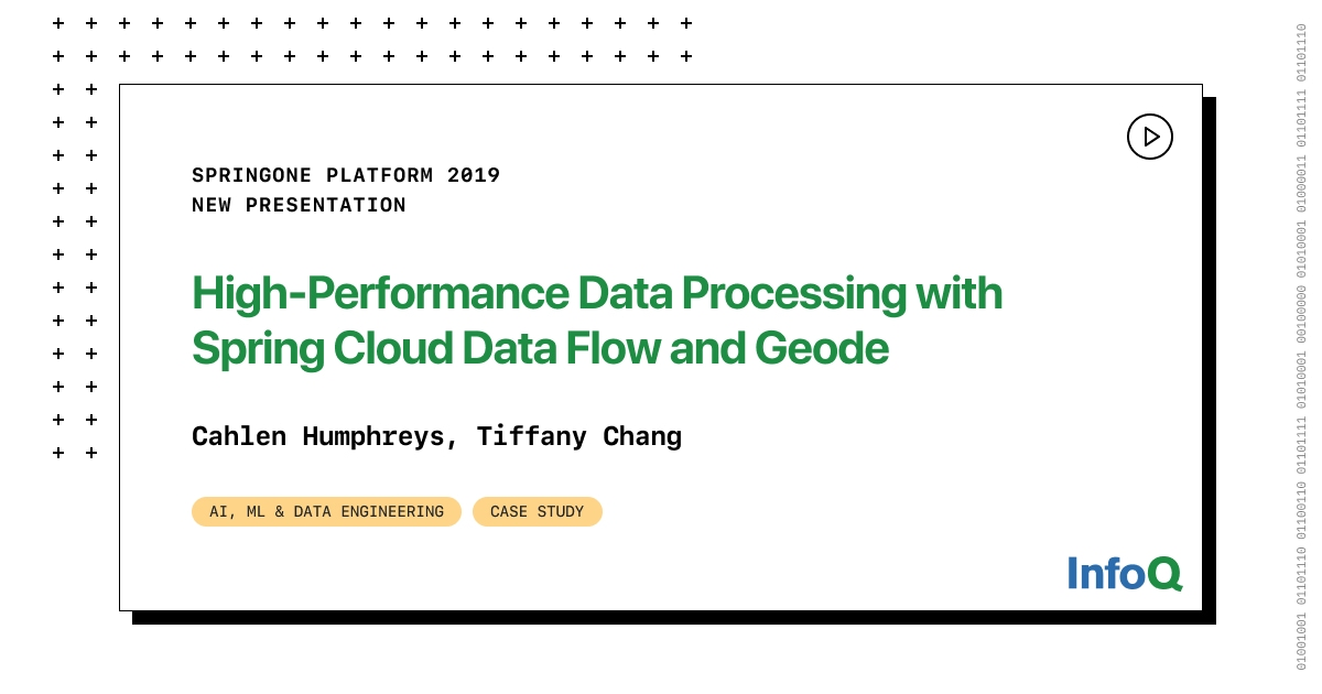 Image of article 'High-performance Data Processing with Spring Cloud Data Flow and Geode'