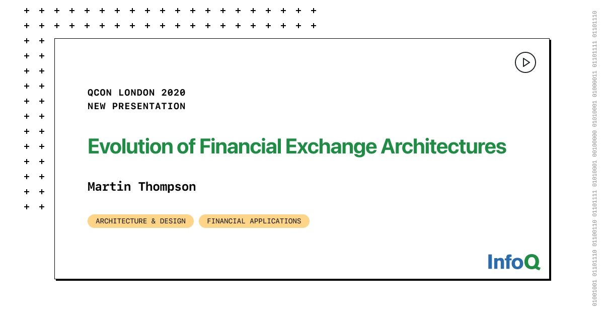 Presentation: Evolution of Financial Exchange Architectures - RapidAPI