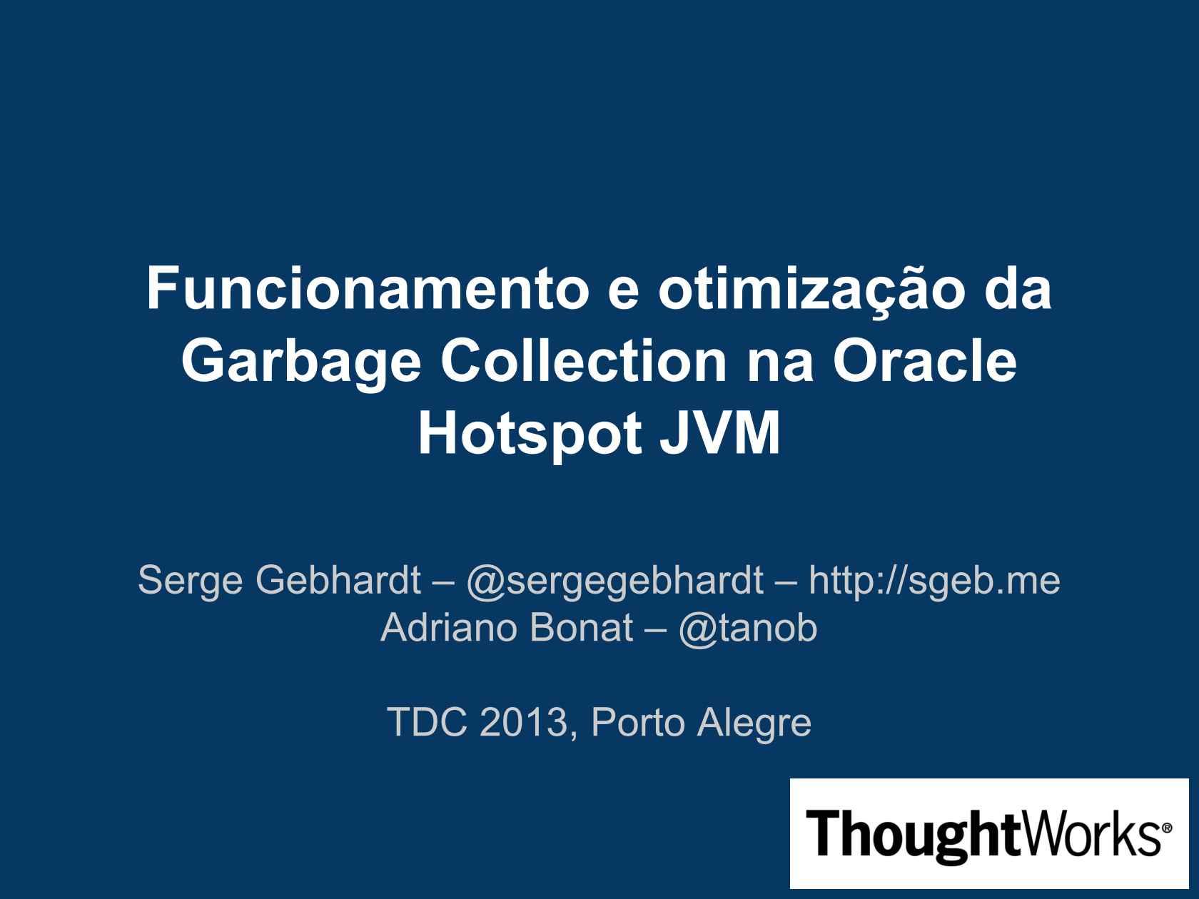 Funcionamento e otimização do Garbage Collector na Oracle HotSpot JVM