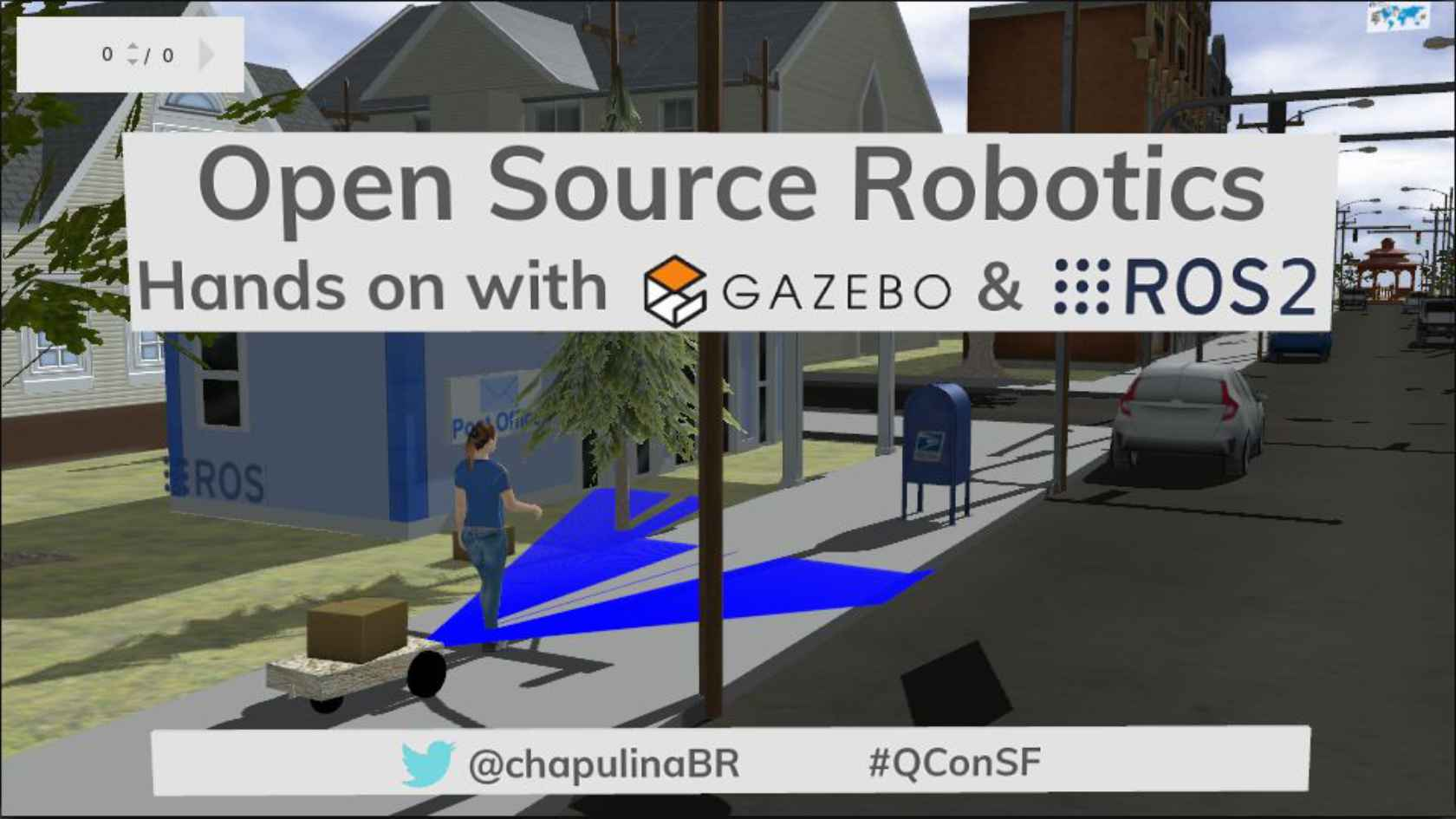 Open Source Robotics: Hands on with Gazebo and ROS 2