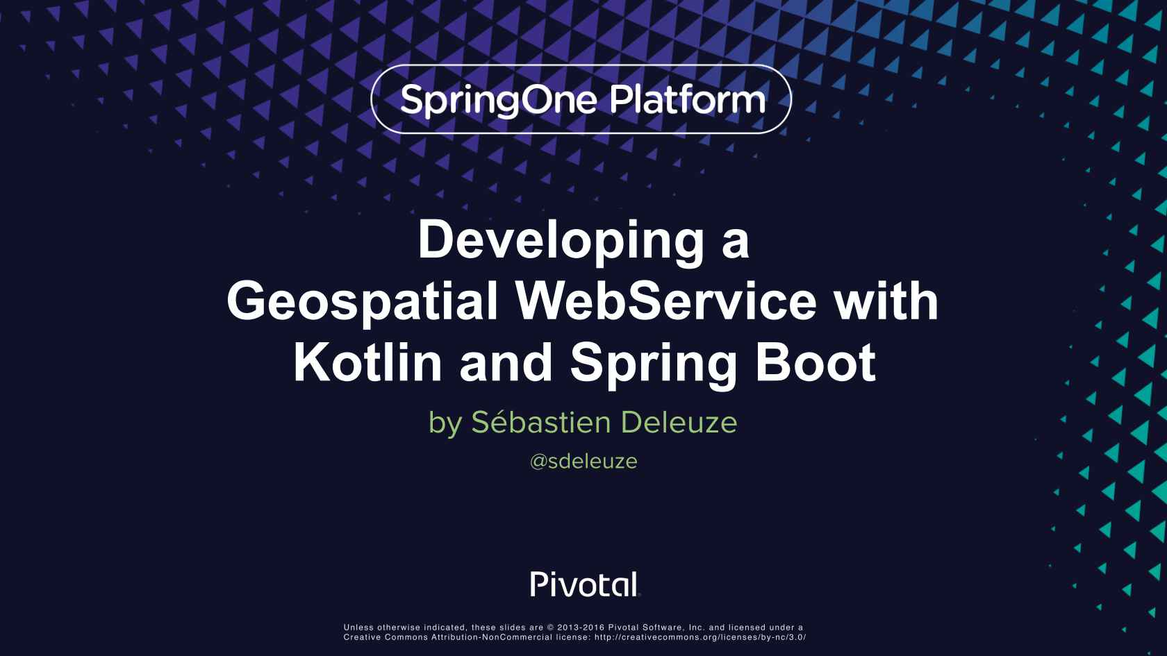 Developing a Geospatial Webservice with Kotlin and Spring Boot