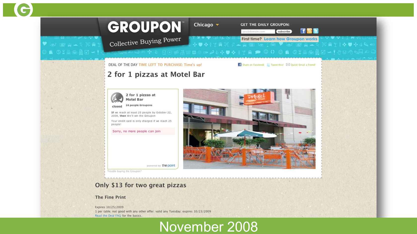 Groupon Engineering: Building Culture through the Experimentation