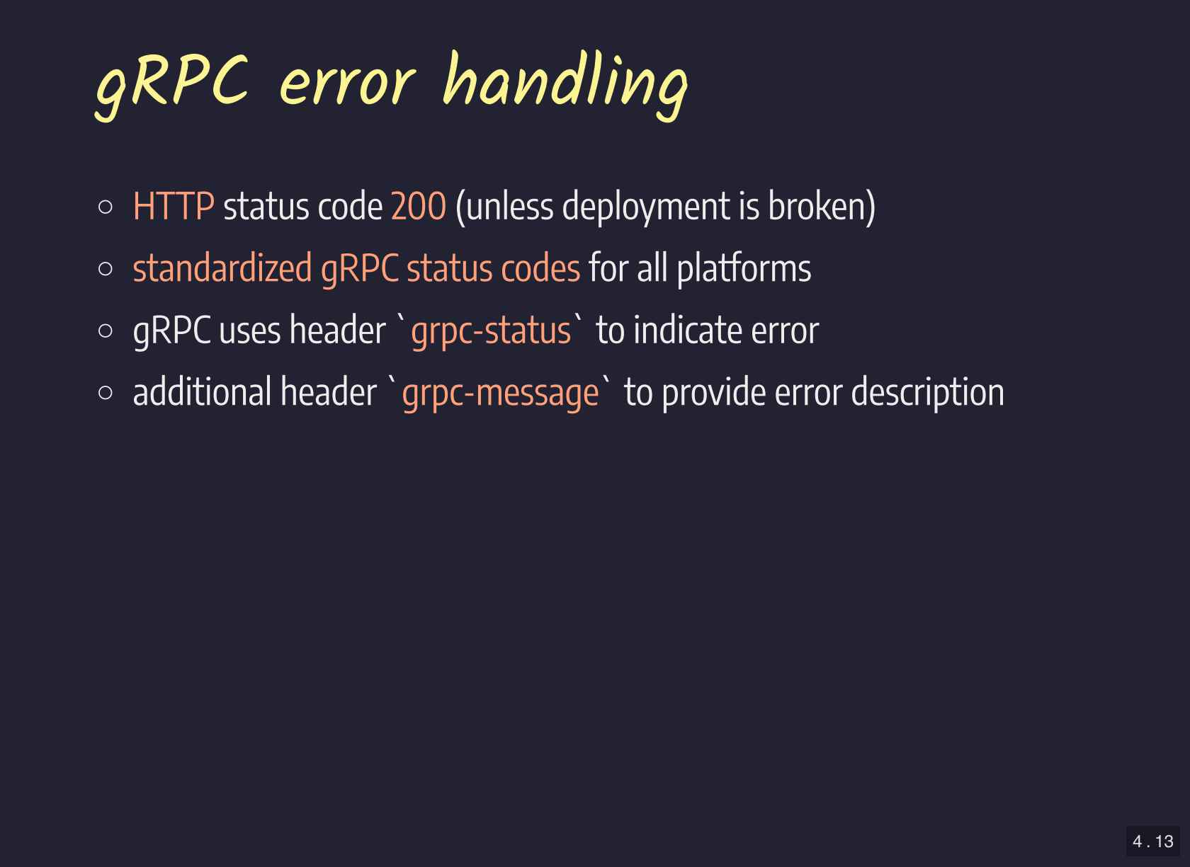 Efficient Service Communication with gRPC