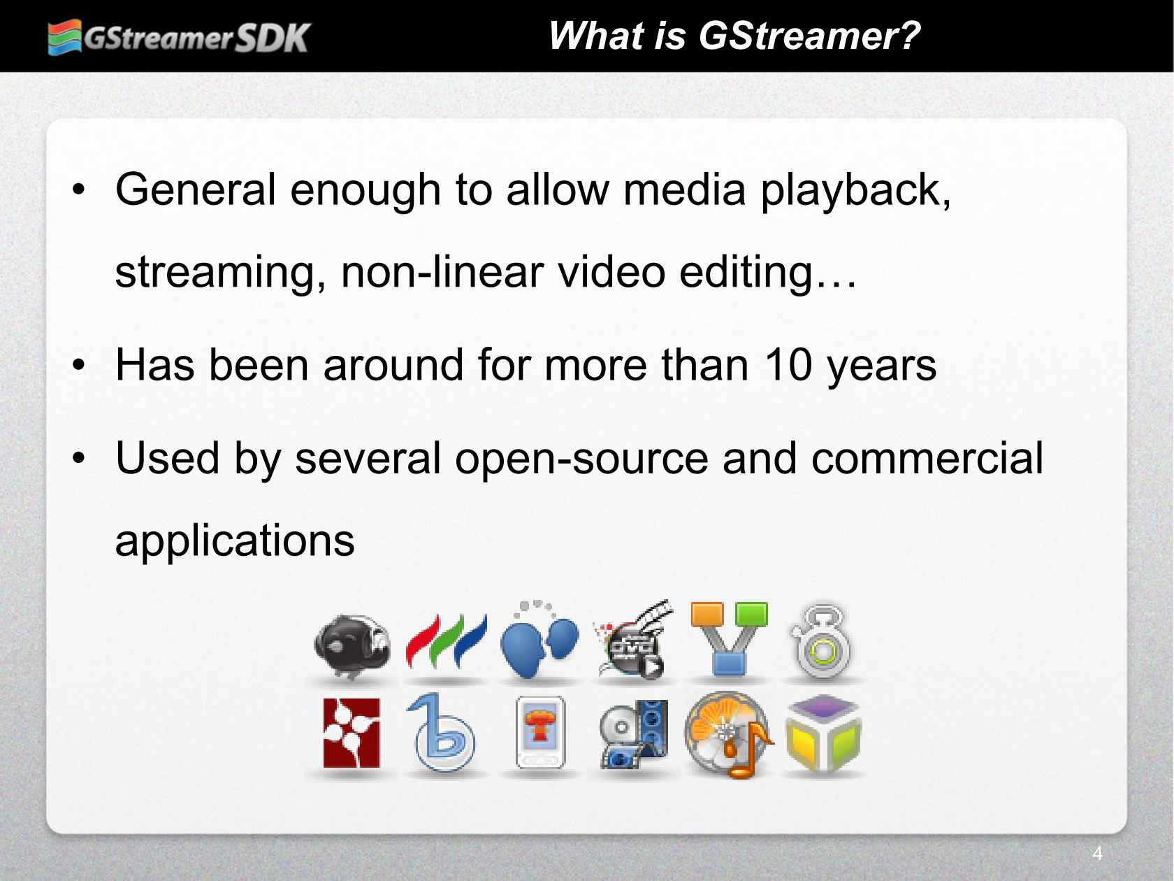 Building a Media Player Application with the GStreamer SDK