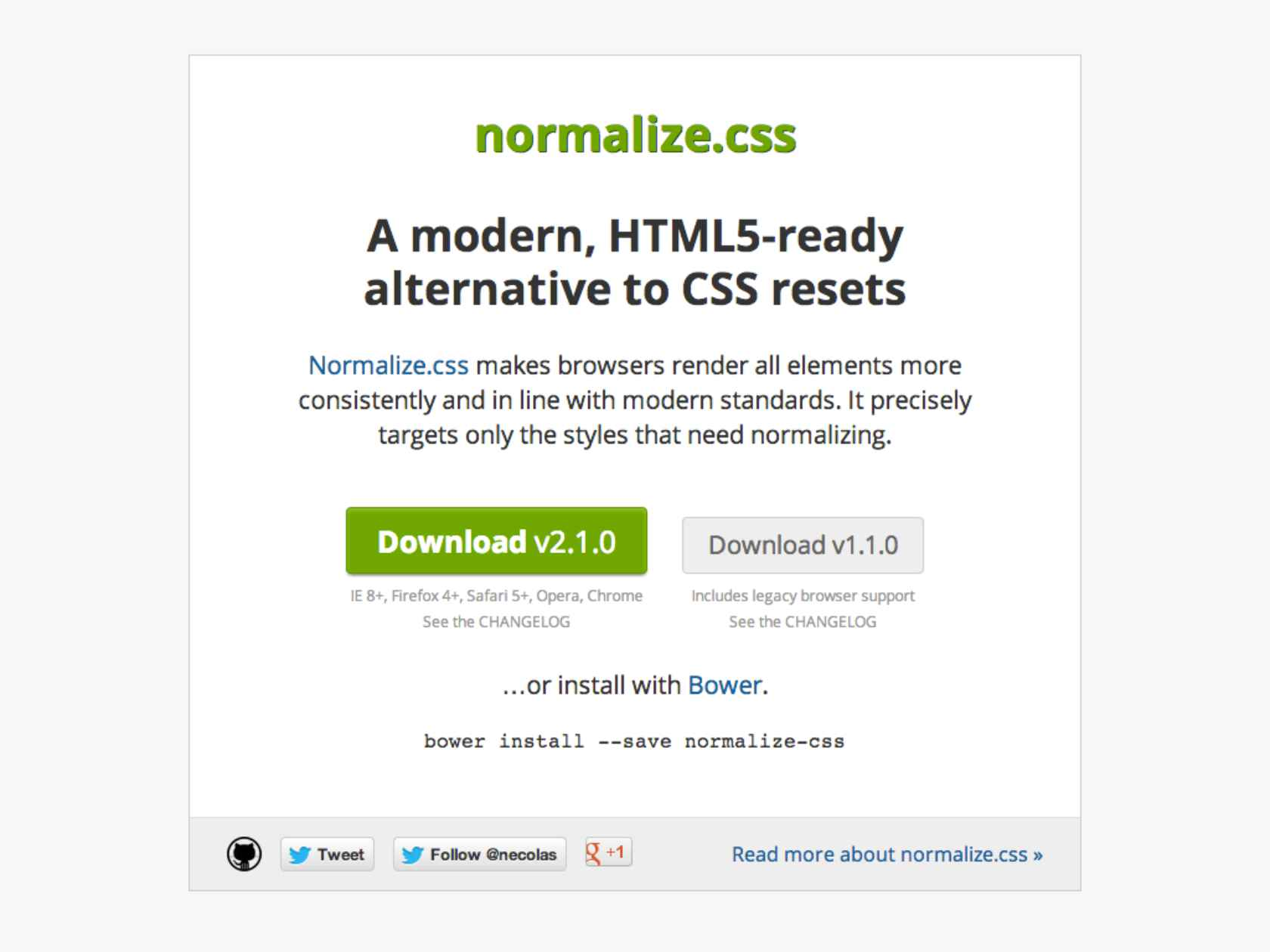 Notes from HTML5 Boilerplate and the Trenches of Front-End Development