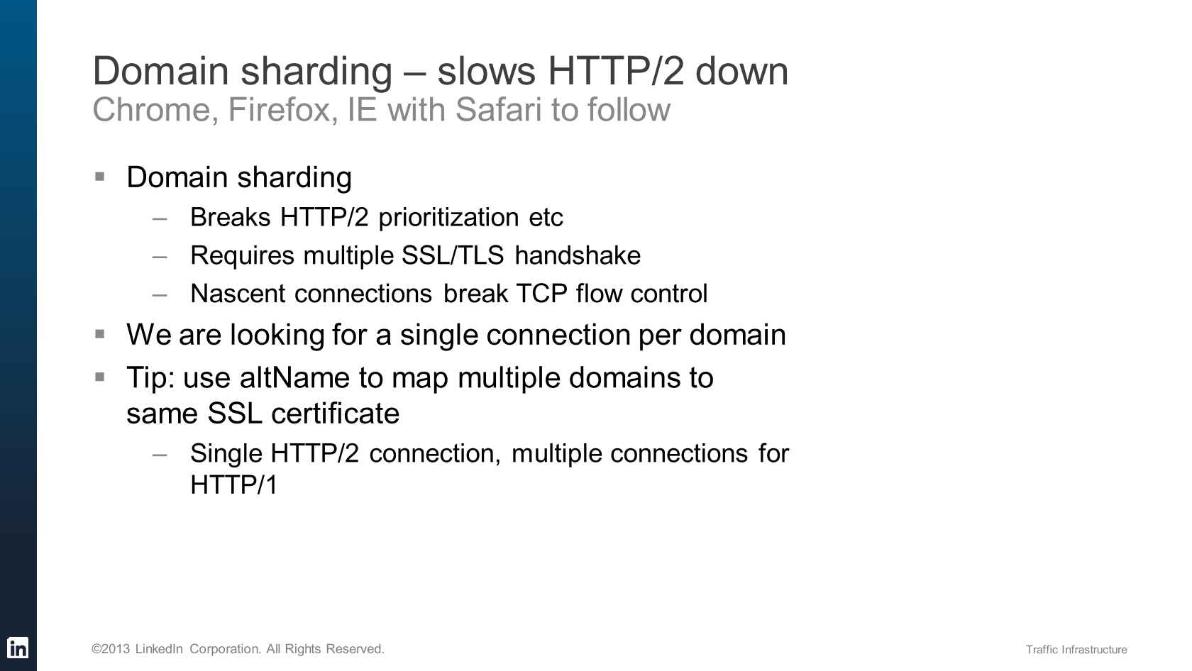 HTTP/2 and a Faster Web