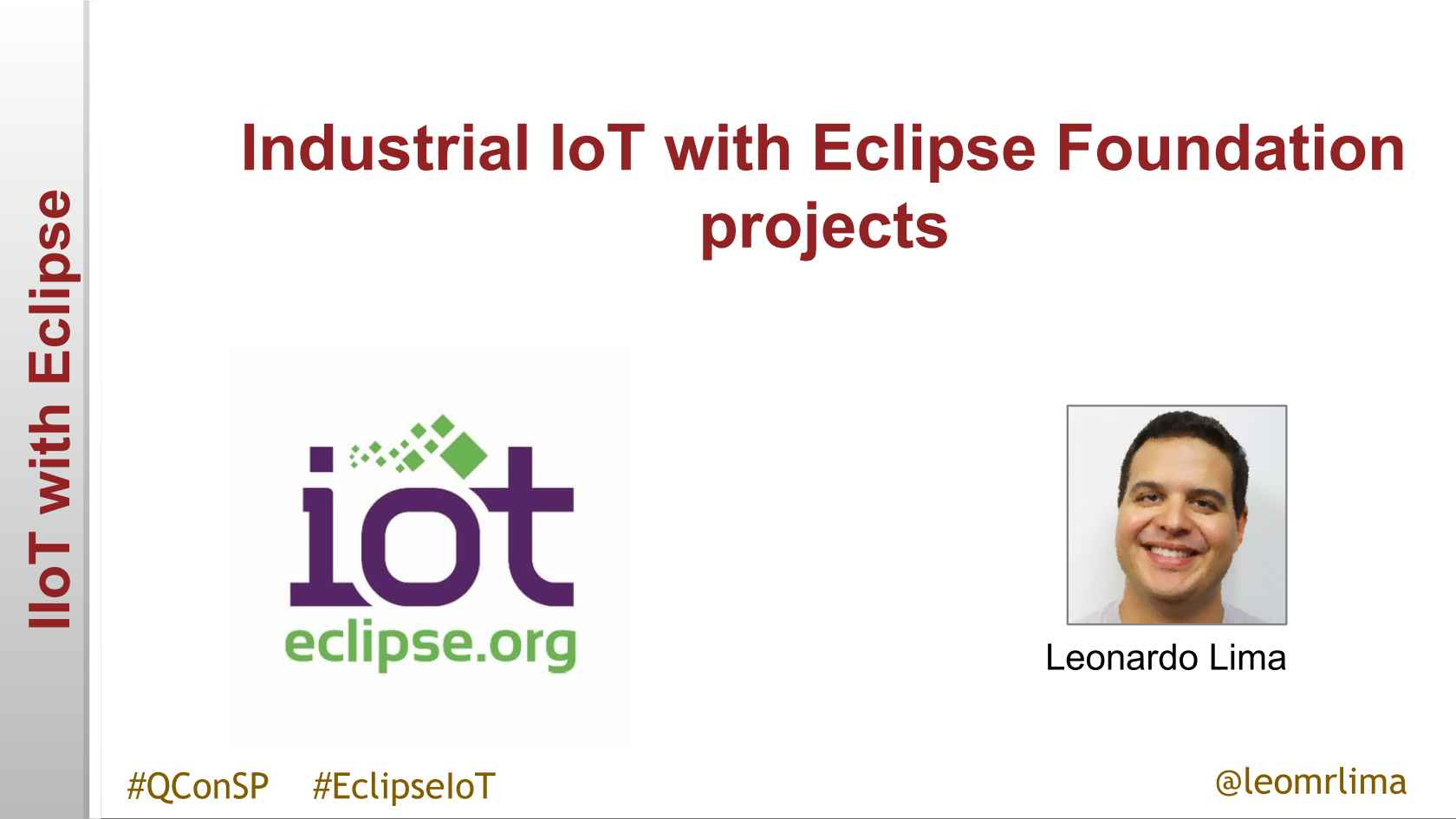 Industrial IoT with Eclipse Foundation projects