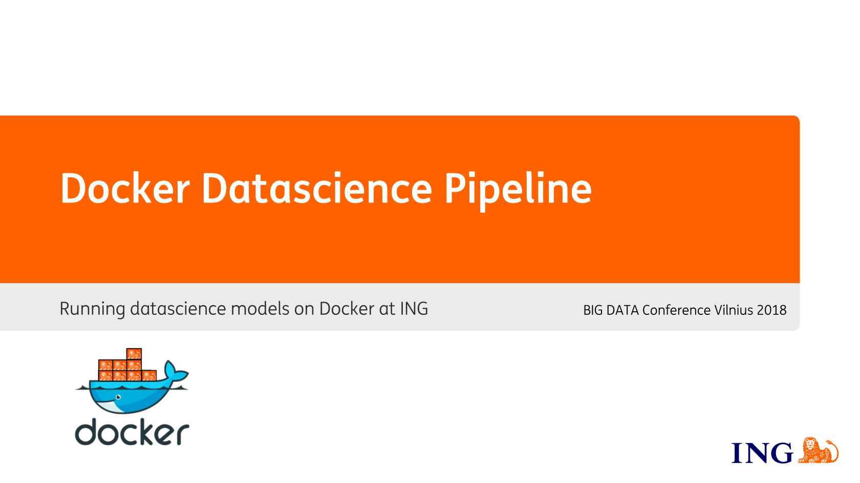 Docker Data Science Pipeline