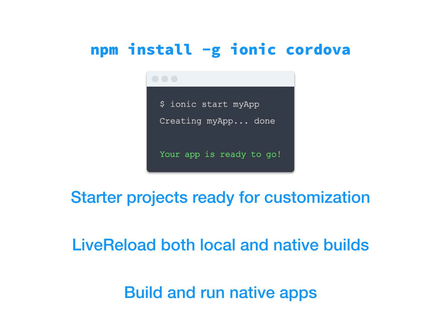Introduction to Ionic, a Cordova and AngularJS-based Mobile