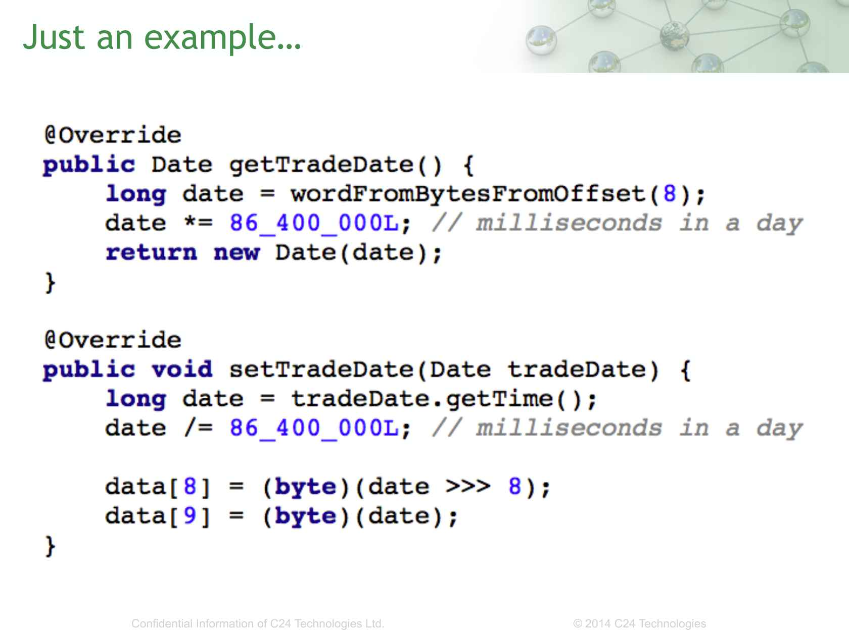 Java for Low Latency - You've Got to Be Joking!