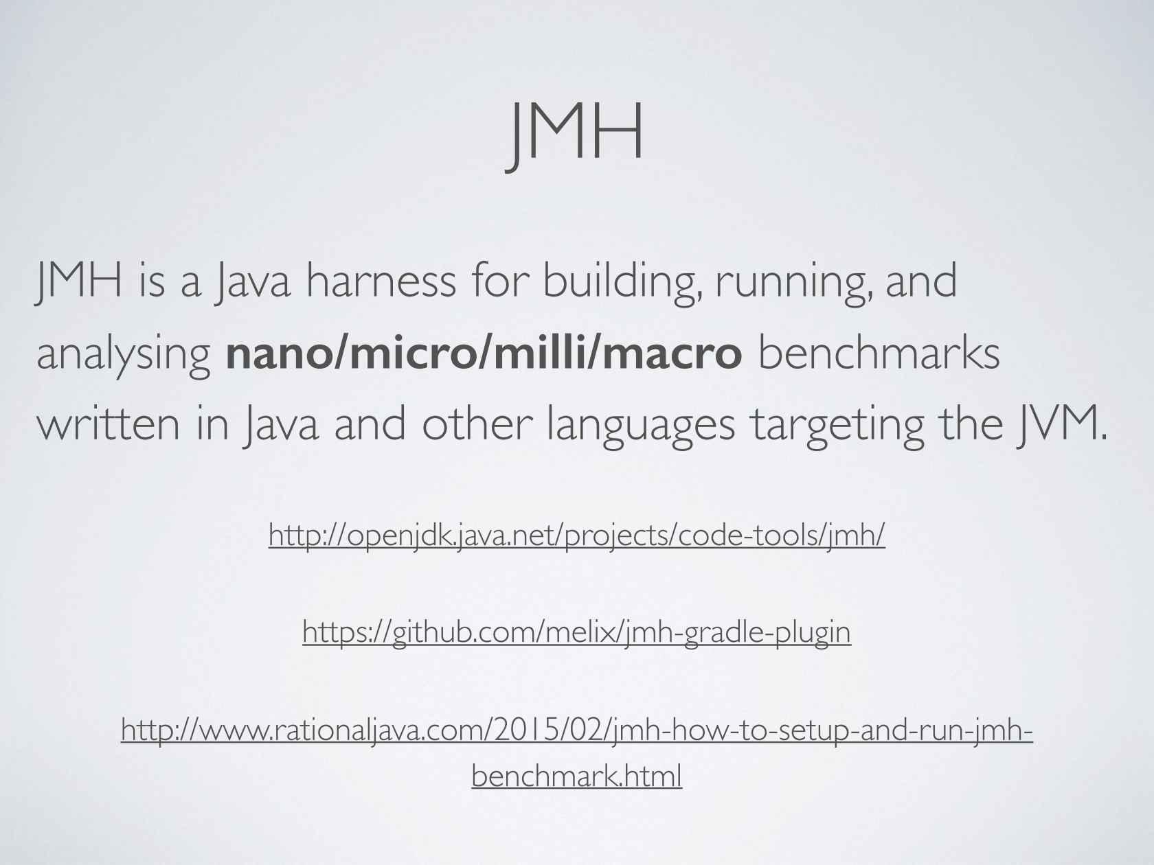 Performance Testing in Java