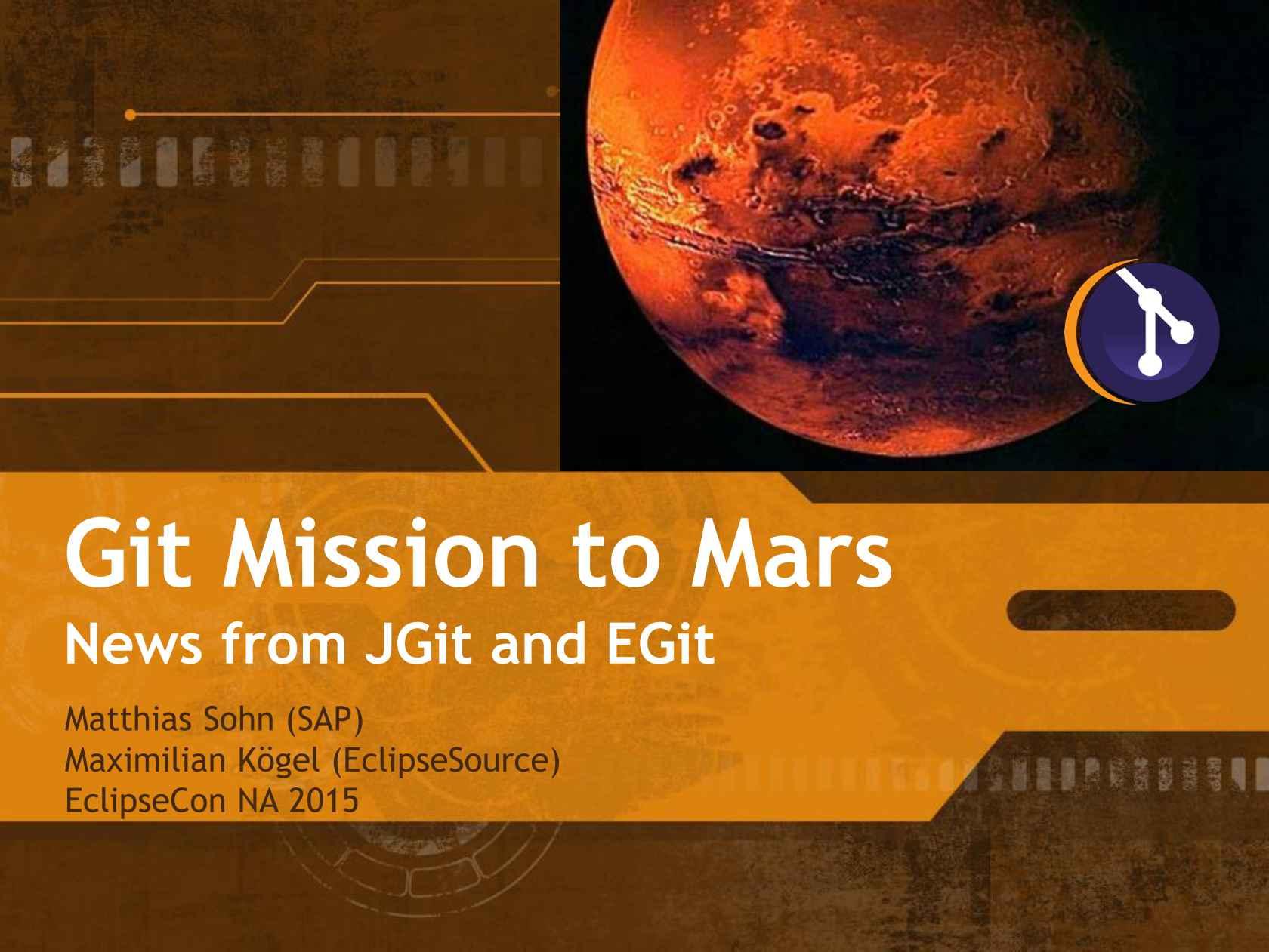 Git Mission to Mars