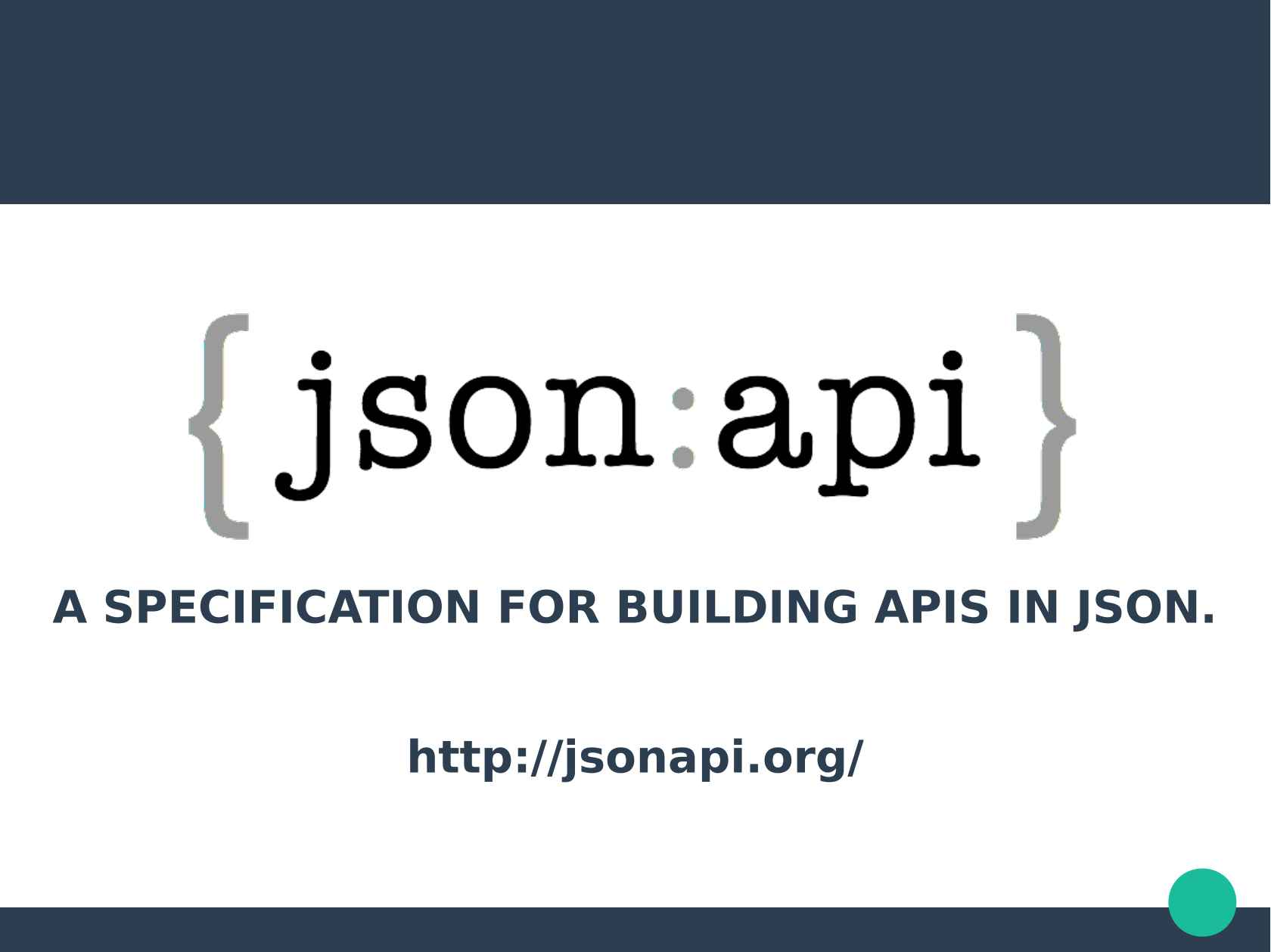 Escaping the Bikeshed with JSON-API