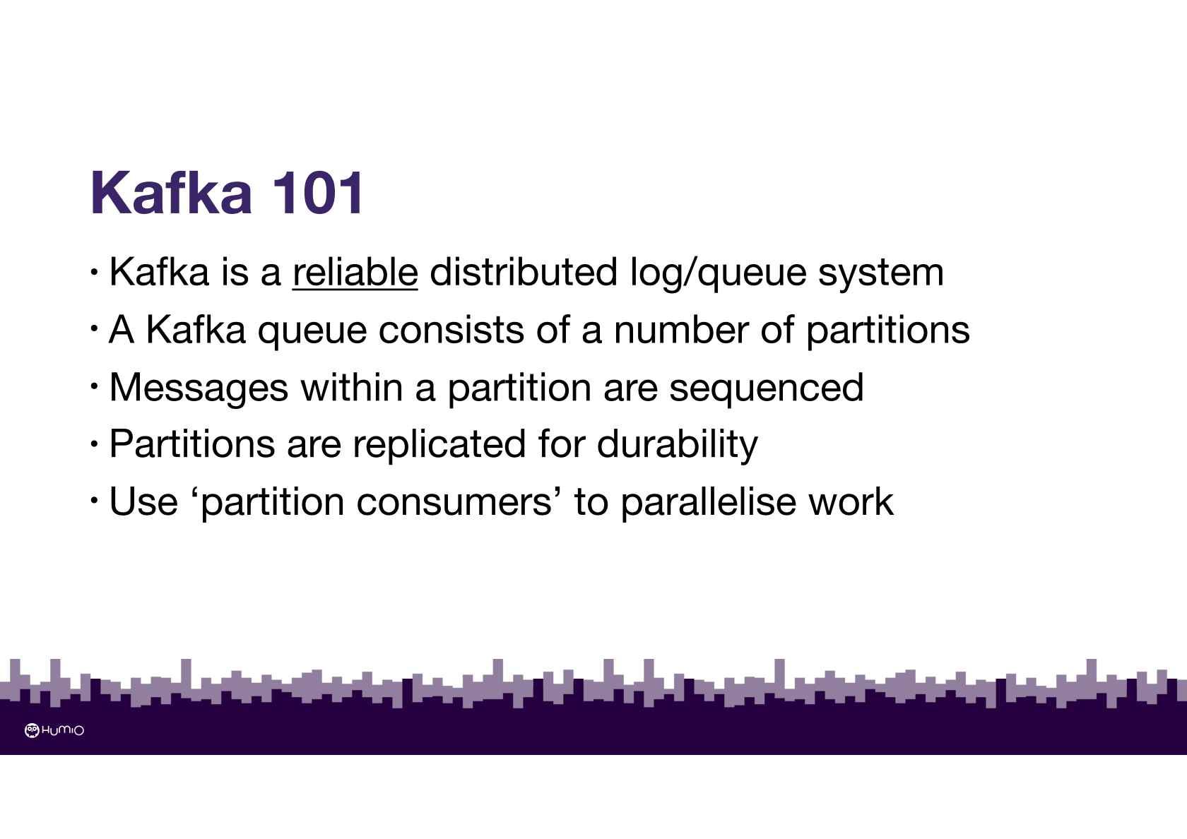 Streaming Log Analytics with Kafka