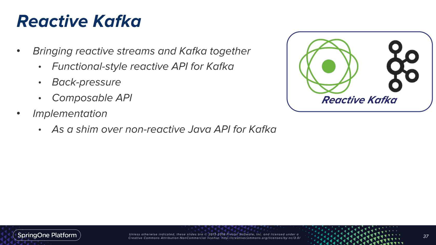 Reactive Kafka