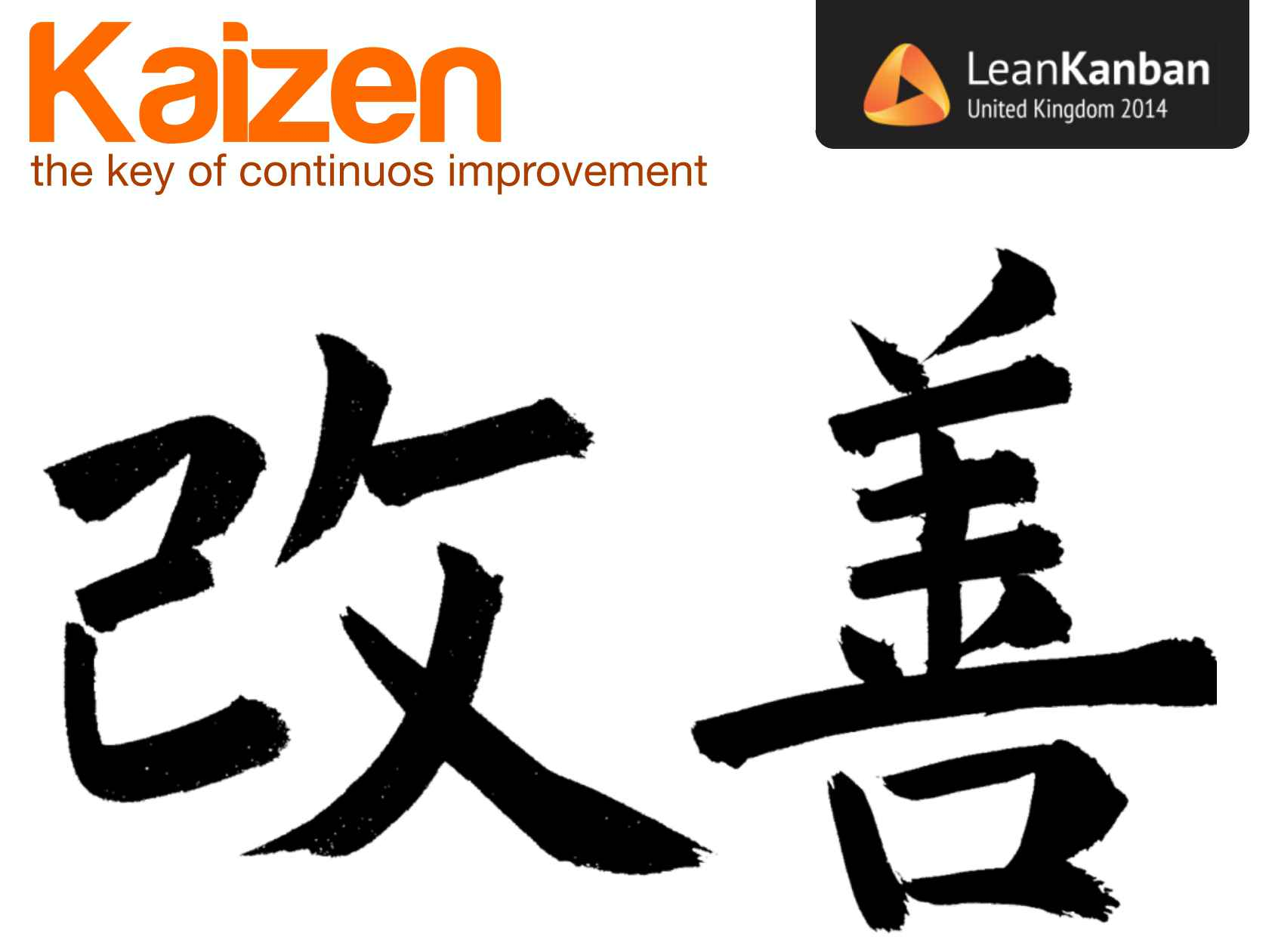 kaizen the key to continuous improvement