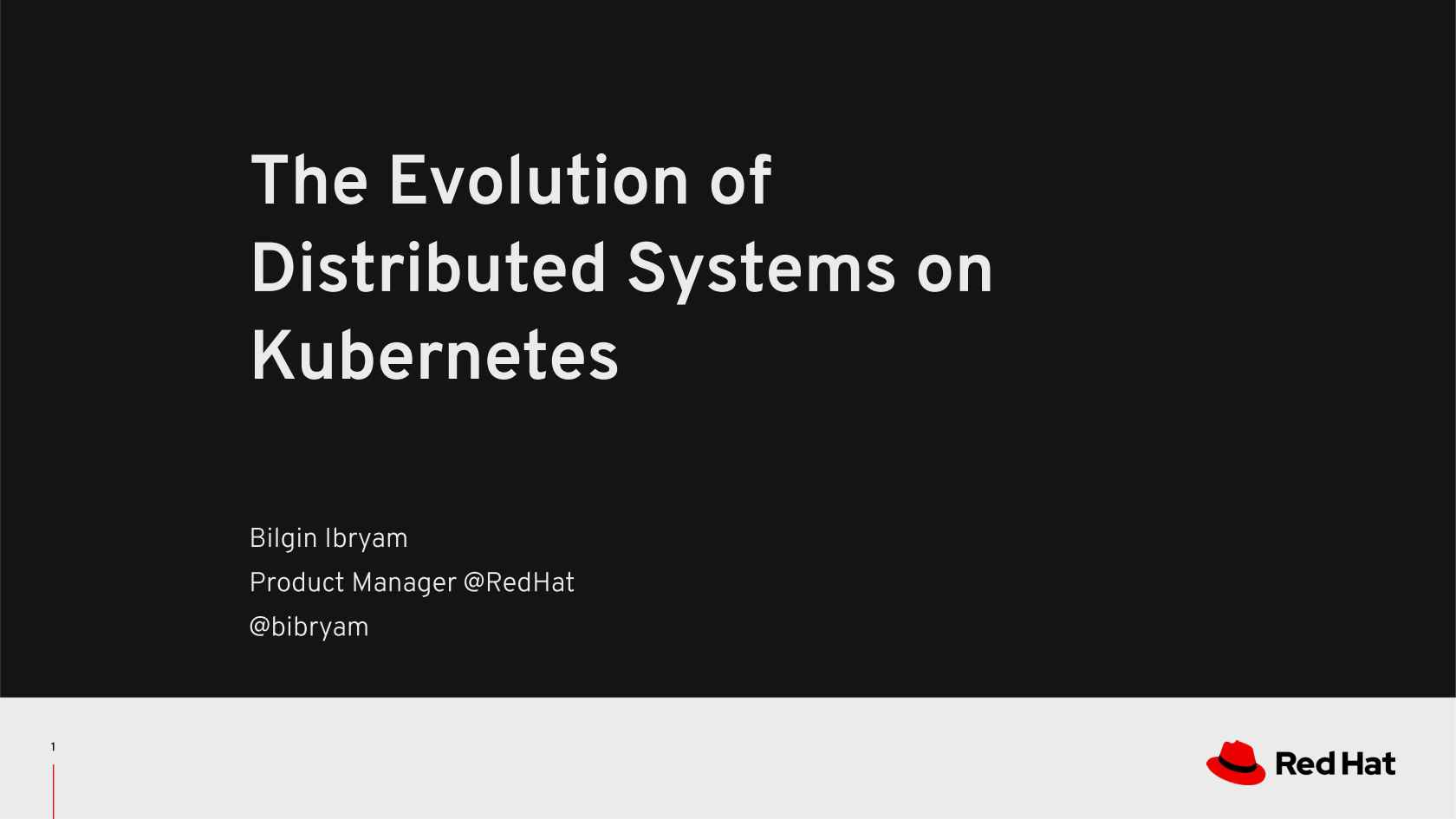 The Evolution Of Distributed Systems On Kubernetes