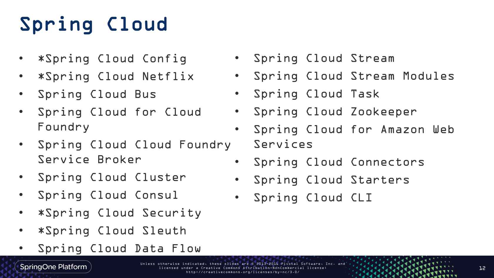 Operating a High Velocity Large Organization with Spring Cloud