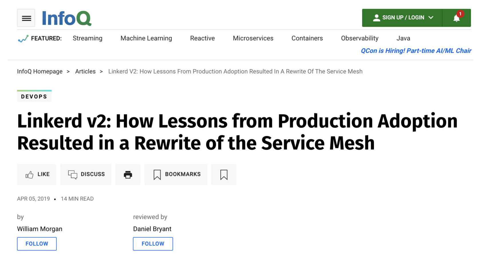 The Service Mesh: It's about Traffic