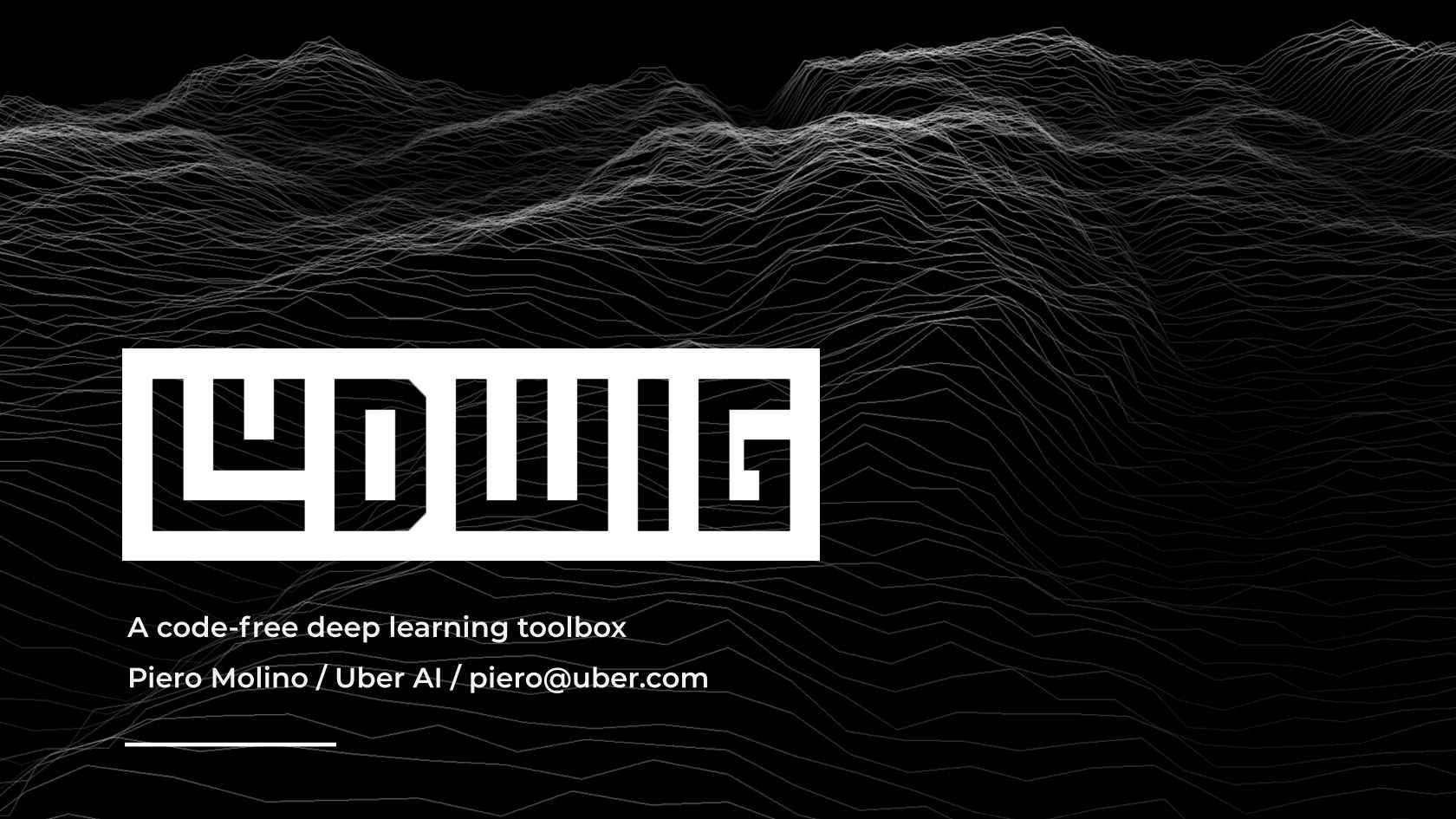 Ludwig: A Code-Free Deep Learning Toolbox