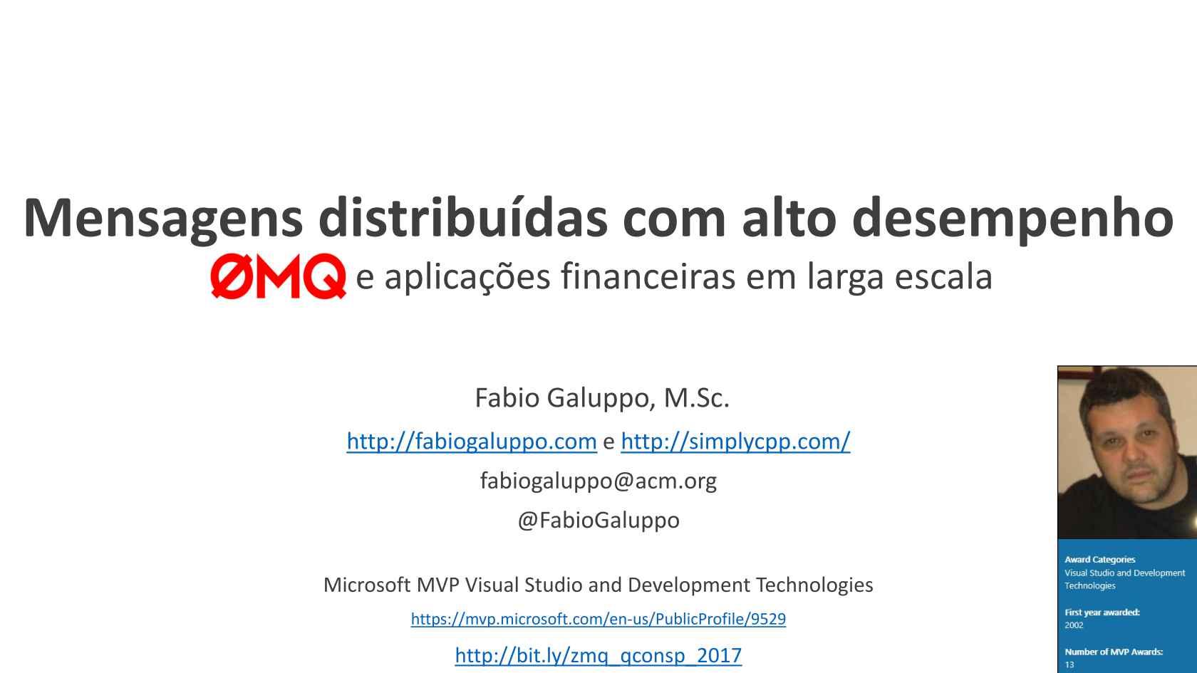 Mensagens distribuídas com alto desempenho: ZeroMQ e