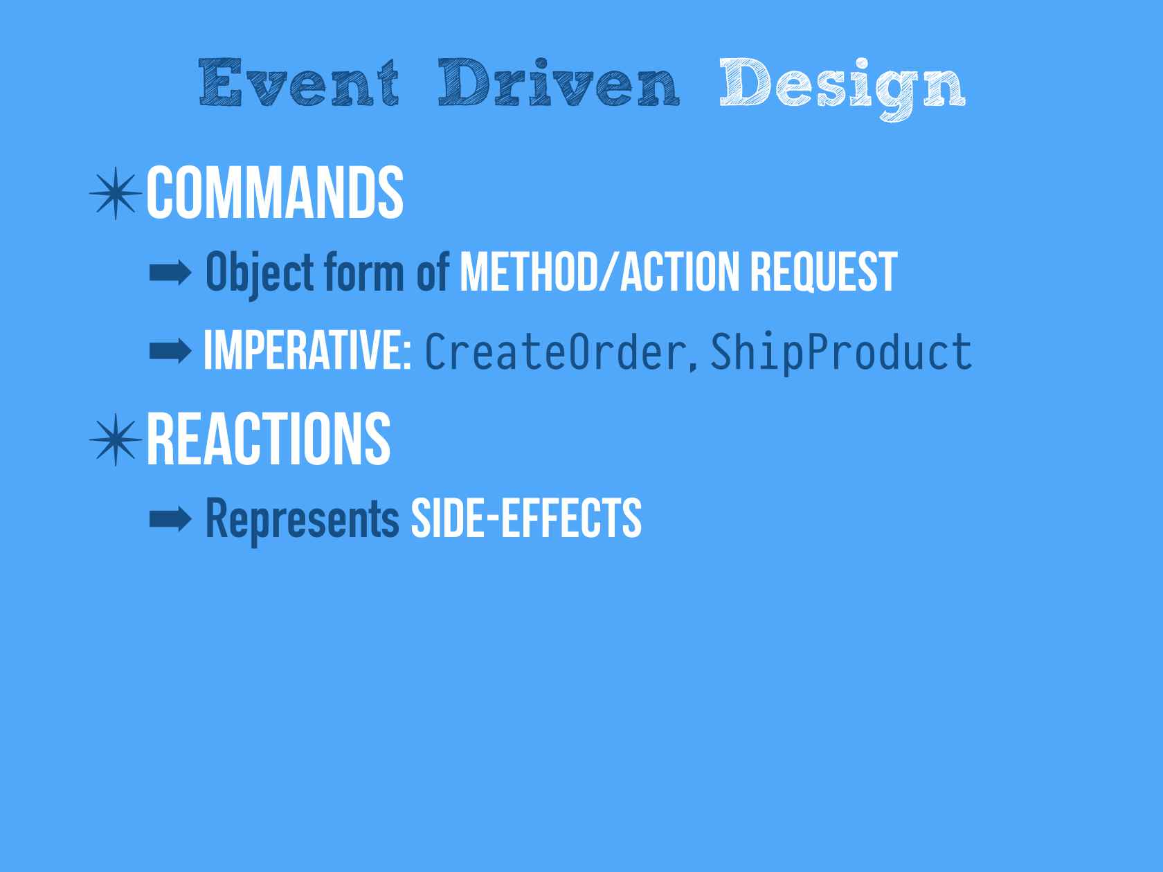 Designing Events First Microservices