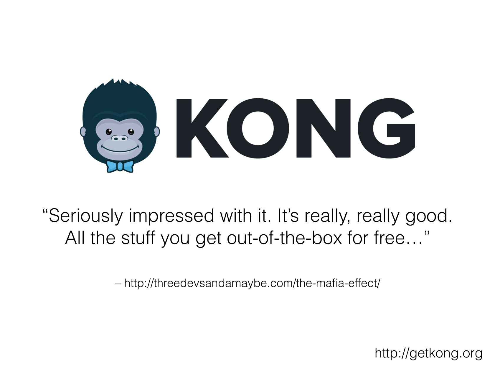 Microservices with Kong