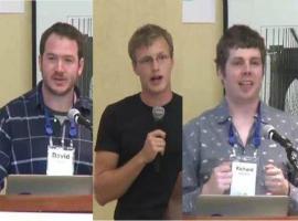 Mini-talks: Machine Intelligence, Algorithms for Anti-Money Laundering, Blockchain
