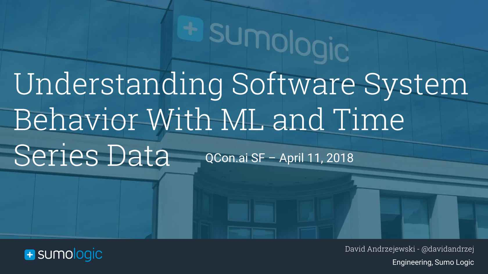 Understanding Software System Behavior with ML and Time Series Data