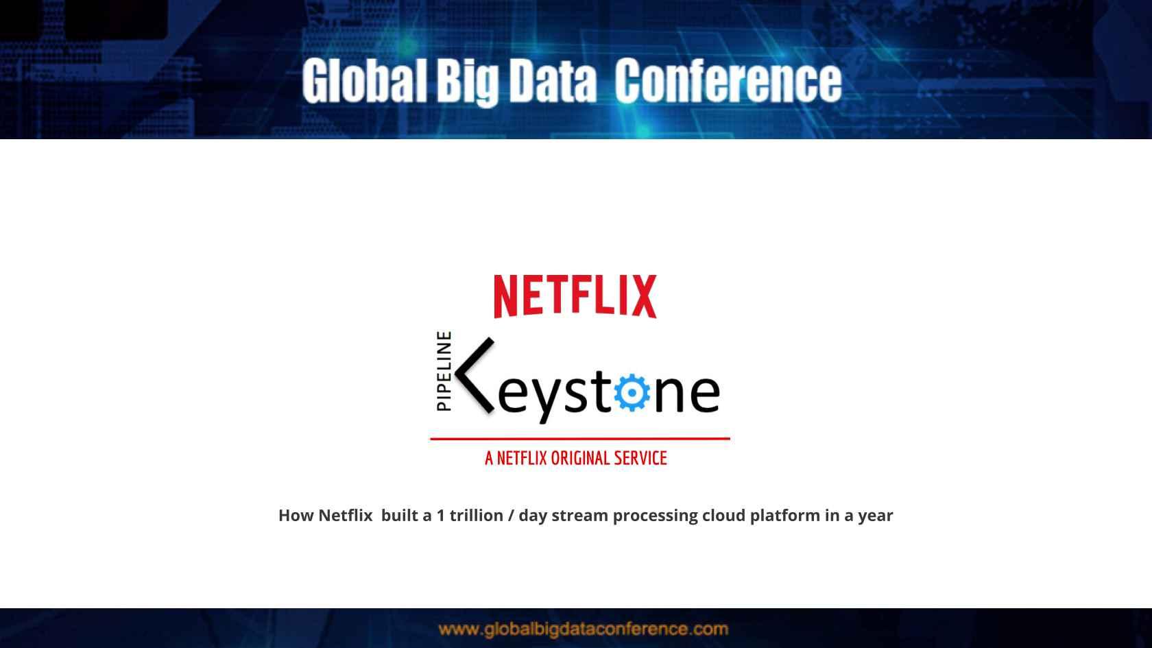 Netflix Keystone - How We Built a 700B/day Stream Processing