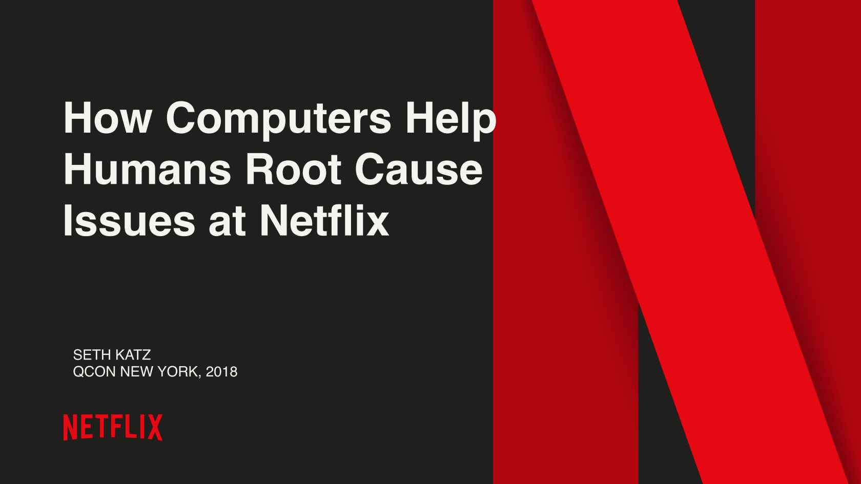 How Machines Help Humans Root Case Issues @ Netflix