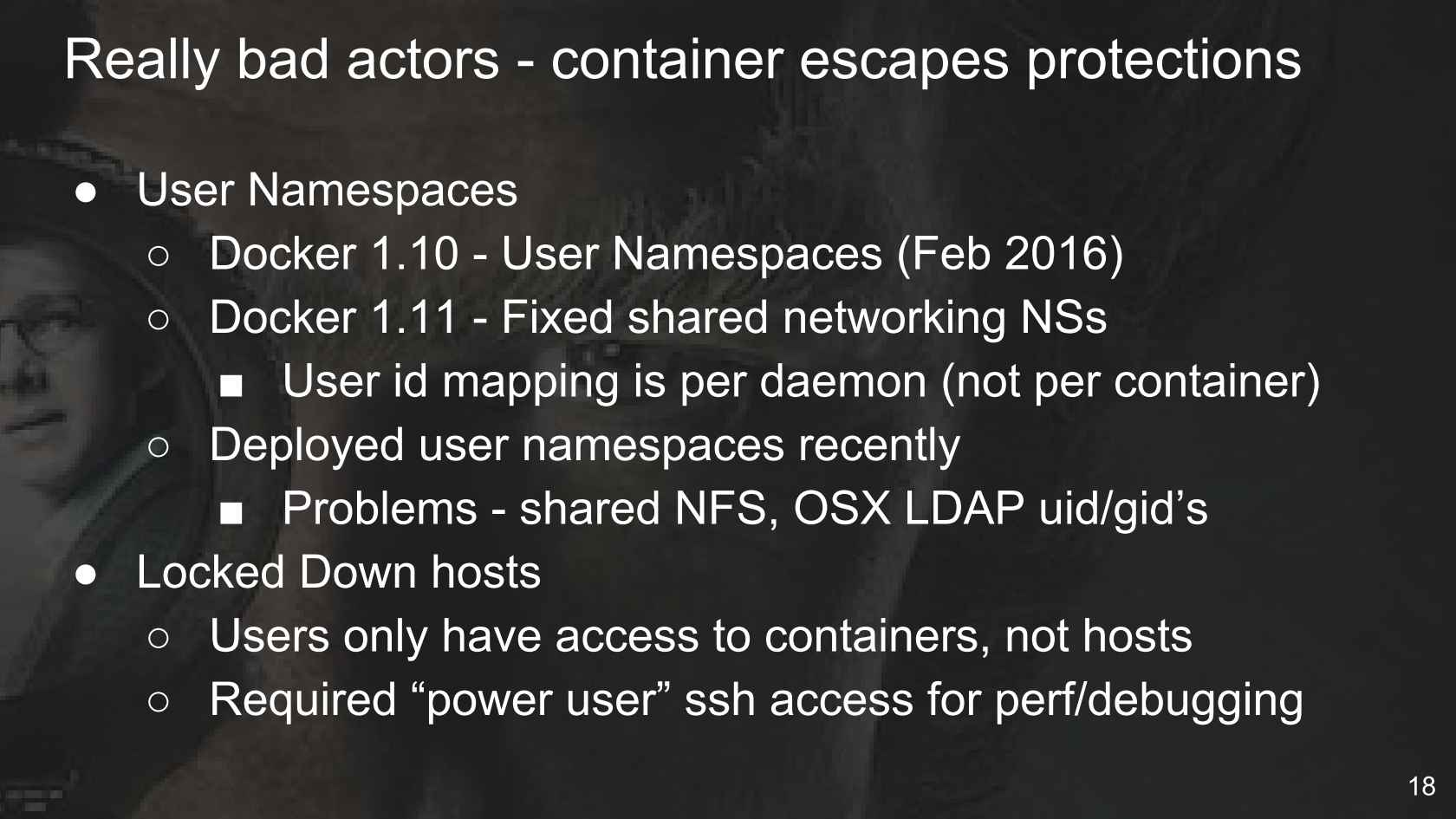 A Series of Unfortunate Container Events @Netflix