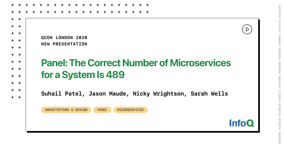 Panel: The Correct Number of Microservices for a System Is 489